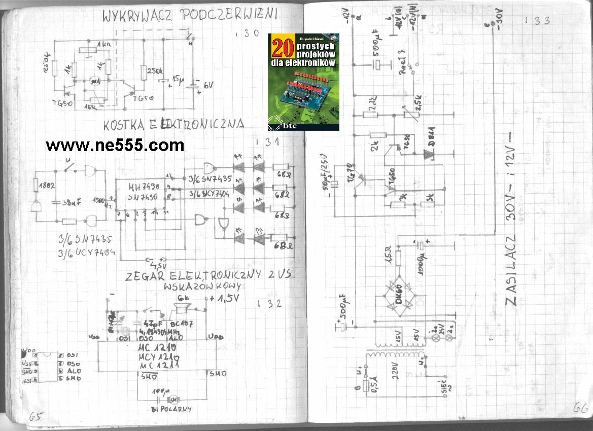 timer 555 electronics projects  u0026quot elektronik hobbysta ne555 u0026quot